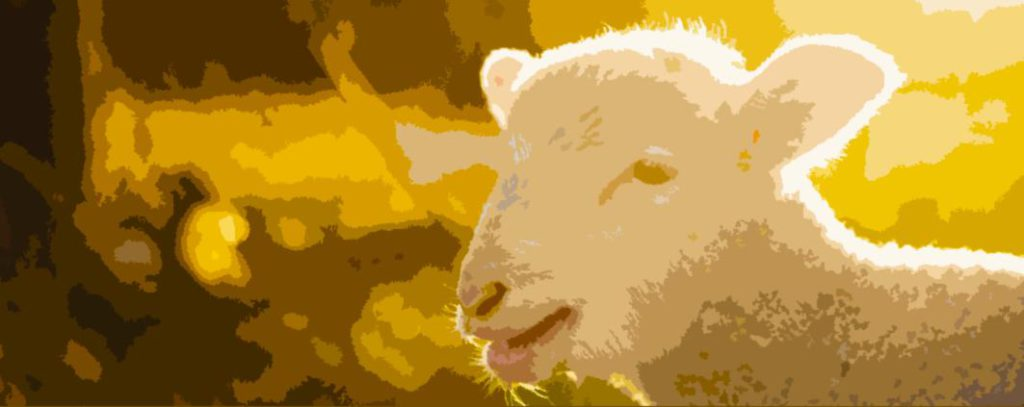 Animal sacrifice gradually became replaced with good deeds and atonement