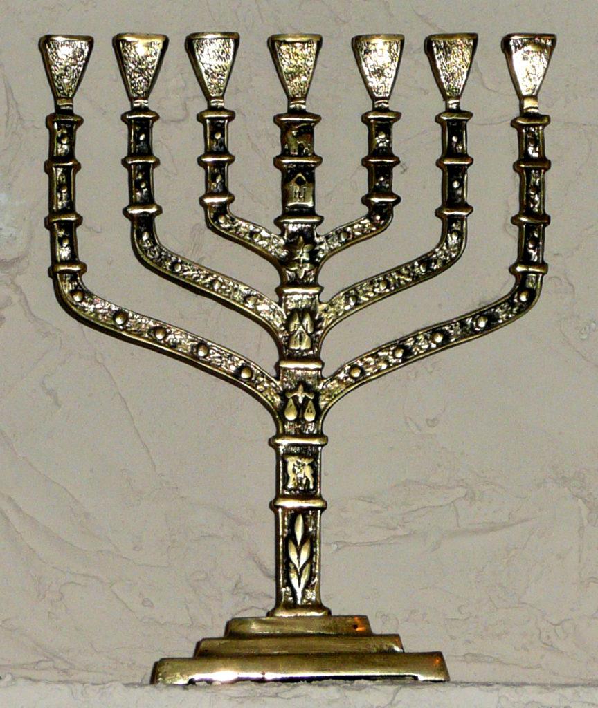 Synagogue Menorah
